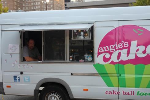 Cake Ball Love Truck